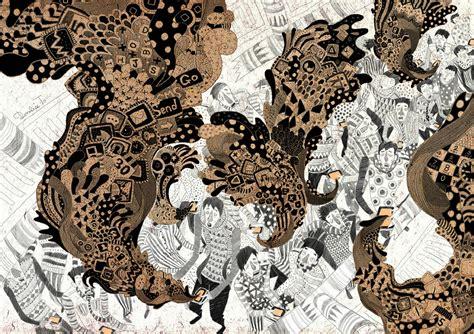 illustration and animation by yukai du scene360