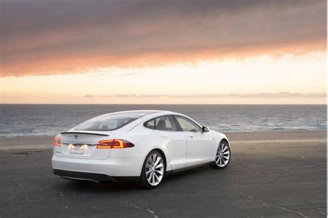 Tesla Model S Car Price Tesla Reveals European Pricing For Model S Electric Sedan