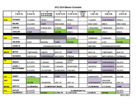 runge isd runge high school master schedule