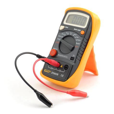 capacitor measure multimeter capacitance measuring tool dt6013b meter digital multimeter pa 8 ebay