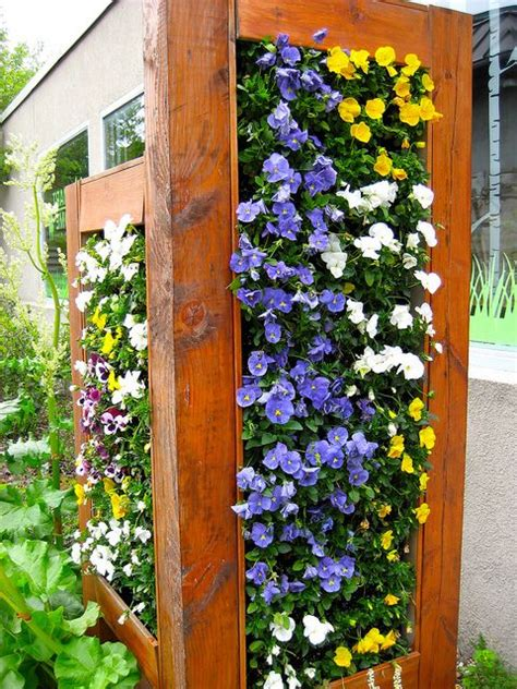 Vertical Flower Garden Flower Vertical Garden House Ideas