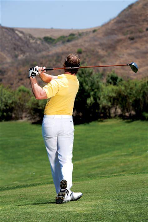 how fast should i swing the golf club golf swing tips hit it big