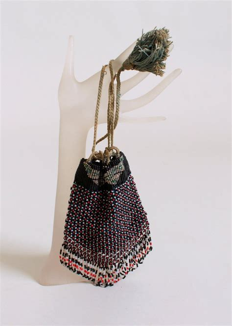 1920s beaded purse vintage 1920s butterfly beaded purse raleigh vintage