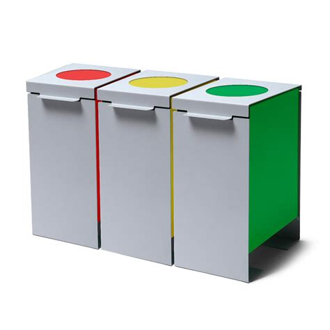 contenitori raccolta differenziata ufficio kit di 3 bidoni raccolta differenziata per ufficio mense