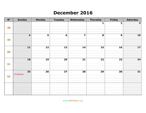 Calendar December 2017 Word Template December 2017 Calendar Word Weekly Calendar Template