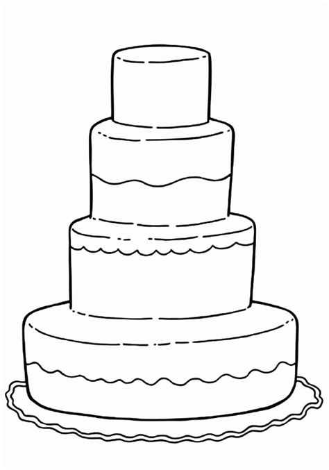 coloring page wedding cake printable wedding coloring pages kids az coloring pages