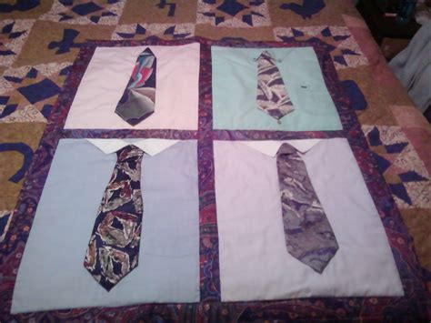 Pattern For Shirt And Tie Quilt | need quilt pattern to make a tie quilt