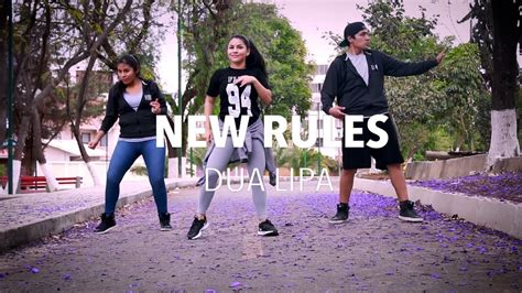dua lipa zumba new rules dua lipa zumba flow dance fitness youtube