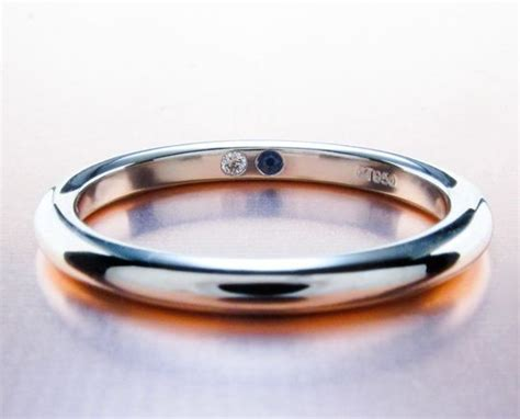 is the wedding band on the inside or outside anyone suprise stones inside your wedding bands