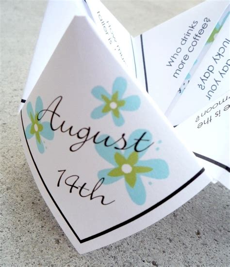 Wedding Quotes Pdf by Wedding Favor Quote Cootie Catcher Pdf By