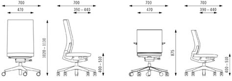 office chair dimensions in mm b run options dimensions bene office furniture