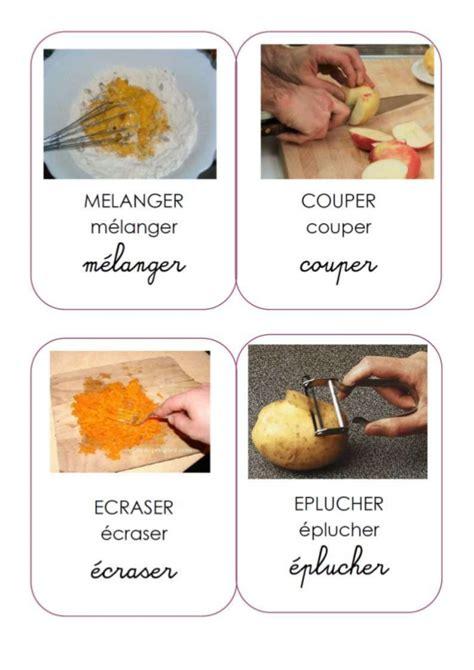 verbe de cuisine verbes cuisine