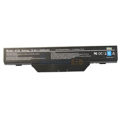 Battery Nb Hp 510 4 Cell 6 cell notebook battery for hp compaq 550 510 511 610 6720