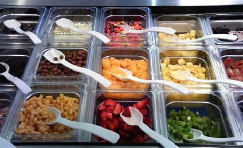 Frozen Yogurt Topping Bar by Frozen Yogurt Photo Berry Freeze Brookline Tripadvisor