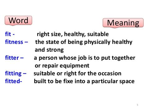 Meaning Of The Word Class 8 Lesson 6 Meaning Of Words