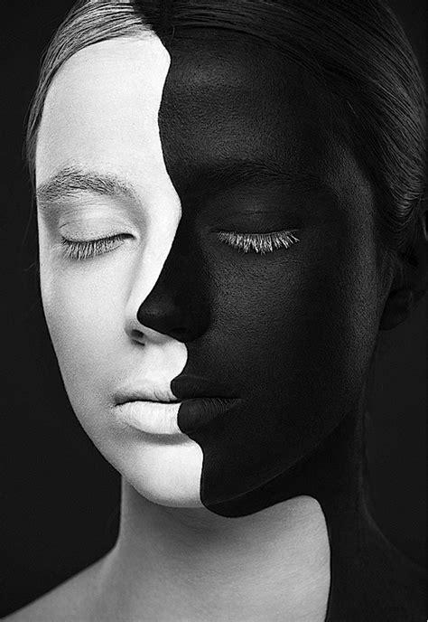 Na série Weird Beauty, fotógrafo e maquiadora criam
