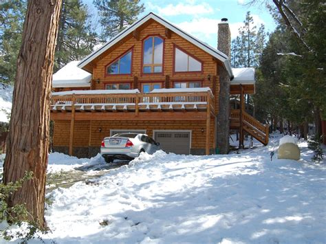 Cabin Rentals In Idyllwild by Magnificent Log Home With Sauna Vrbo