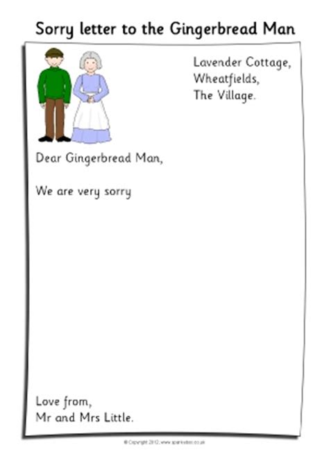 Apology Letter Exle Ks1 Letter Writing Frames And Printable Page Borders Ks1 Ks2 Sparklebox