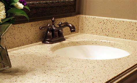 get the thickness of granite and quartz vanity tops with