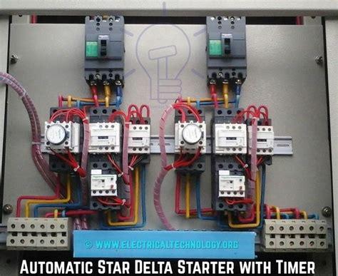 star delta starter   starter power control