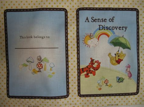 Selimut Soft Panel Winnie The Pooh winnie the pooh tigger piglet a sense of discovery baby soft book fabric panel