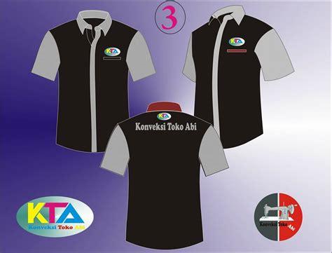 Baju Desain Persija Jaya Raya model seragam karang taruna konveksi toko abi