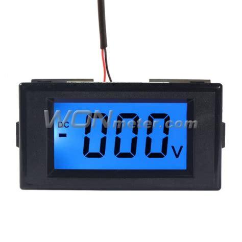 Fort Ac Digital Voltmeter 1display U Panel Metering dc 0 500v lcd digital voltmeter panel power monitor 4 wires voltage meter
