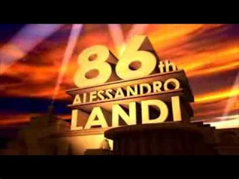 Intro 86th Alessandro Landi 20th Century Fox Blender And After Effects Youtube 20th Century Fox Template After Effects