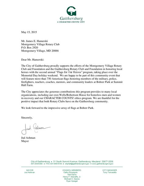 Endorsement Letter For Venue Home Page Rotary Club Of Montgomery