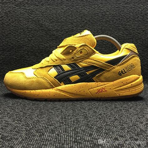 Shoe Paying Tribute To The Object Of My Obsession Second City Style Fashion by Womens Asics Gel Saga Black Yellow Shoes