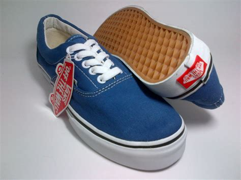Sepatu Vans Navy vans era navy blue shoes shop id