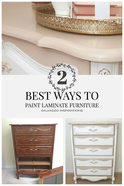 can you paint laminate bedroom furniture 2 best ways to paint laminate furniture