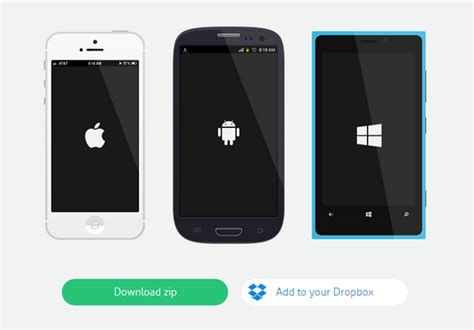 design html for mobile devices free 15 flat designed mobile devices design kit web