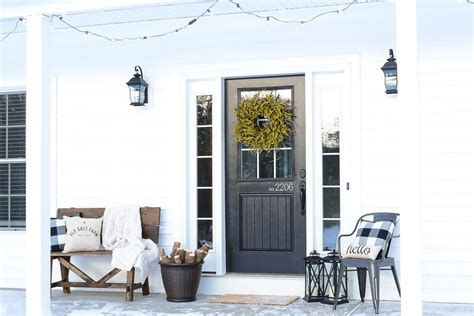 winter home design tips 21 best winter porch decorating ideas