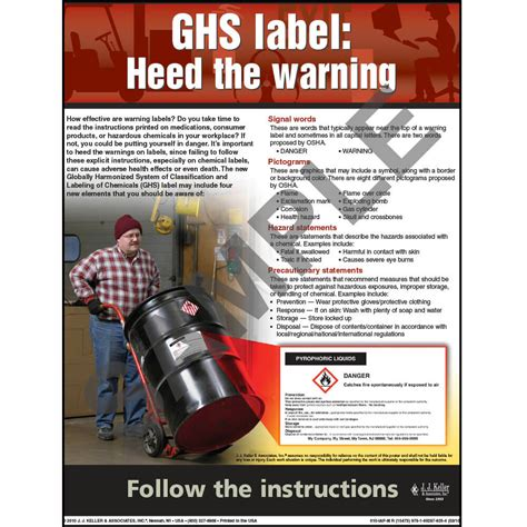 reference books poster ghs workplace safety advisor poster quot ghs label heed