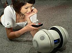 Miuro The Unpredictable Ipod Robot by Miuro Autonomous Robot Science Fiction In The News