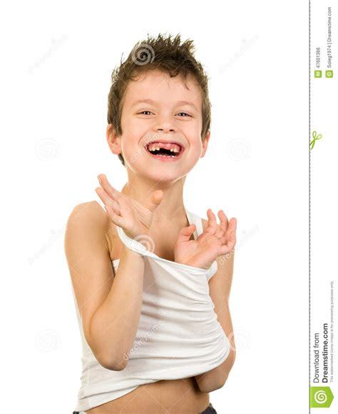 boy xavitos portrait of a boy in underwear with wet hair stock photo