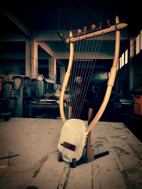 Handcrafted Musical Instruments - the lyre of hermes 9string special edition ancient