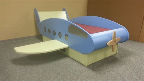 jet bed airplane bed custom by chris davis lumberjocks com