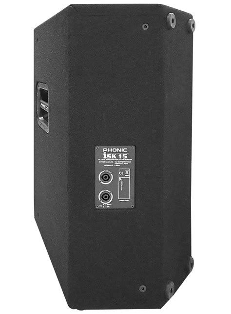 Isk Ds5a Speaker Monitor isk15 700w 15 quot passive 2 way stage speaker floor monitor
