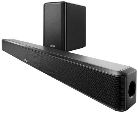 denon dht s514 home theater soundbar system with hdmi