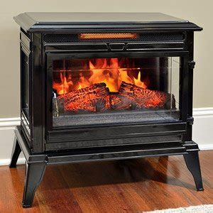 review jackson black infrared electric fireplace