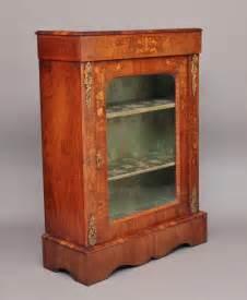 Pier Cabinet 19th Century Inlaid Walnut Pier Cabinet Antiques Atlas