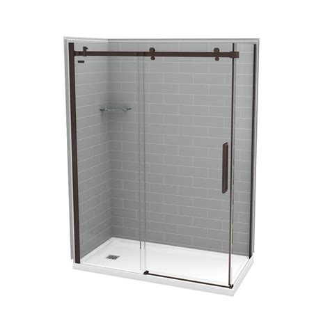 Utile By Maax 32 In X 60 In X 83 5 In Direct To Stud Direct Shower Door Reviews