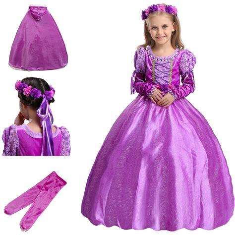 Rapunzel Maxy Baju Dress Wanita 1 birthday princess dresses children