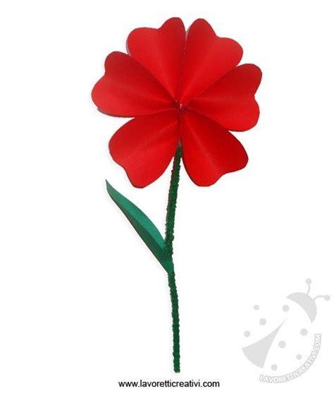 i fiore come fare i fiori di carta