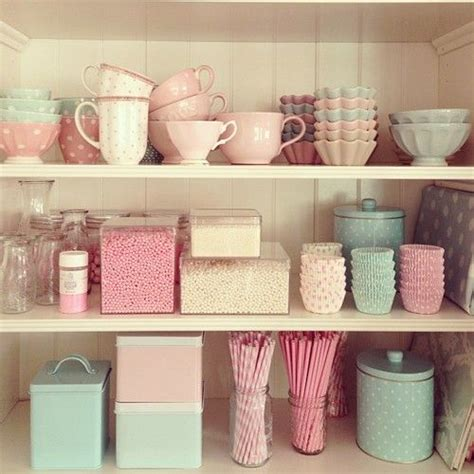 pastel kitchen ideas pretty storage pretty rooms and spaces pastel girly and pantry