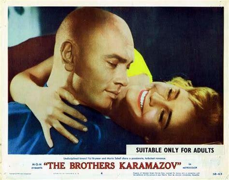 the brothers karamazov the brothers karamazov 1958 lobby card 4 yul brynner