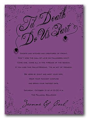 halloween wedding invitations my love pinterest