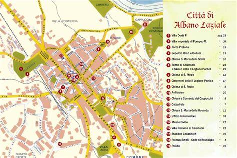 ufficio di collocamento albano laziale turismo e cultura mappa della citt 224 citt 224 di albano